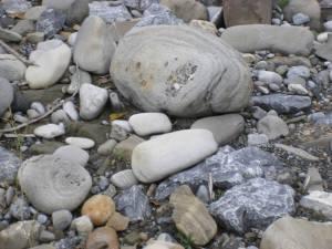 Ancient Stones communicating at Elbow River Falls