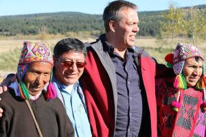 Jeff krause with Q'ero Elders