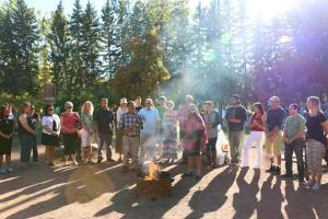 Welcoming ceremony Saturday for Q'ero Elders