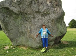 Avebury Stone Circle.Gay Liberty.June 18
