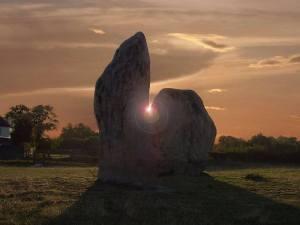 Avebury Stone Circle impression.