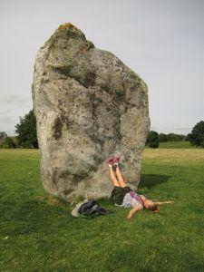 Avebury.Stone Circle.Ruth.June 18