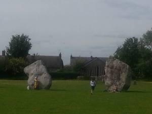 Avebury.Stone Circle.Thursday.June 18