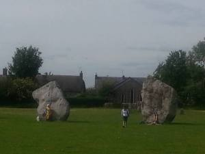 Avebury.Stone Circle.Thursday.June 18