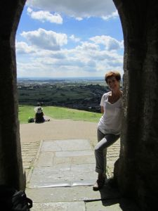 Elena at the Tor.June 15