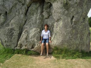 Elena.Avebury Stone Circle.Thursday.June.18