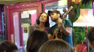 Laura and John.inspiring music with a energetic touch.June 13