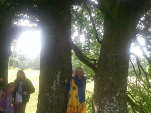 Sacred Tree and dear Sisters and Brothers.Avebury.June 18