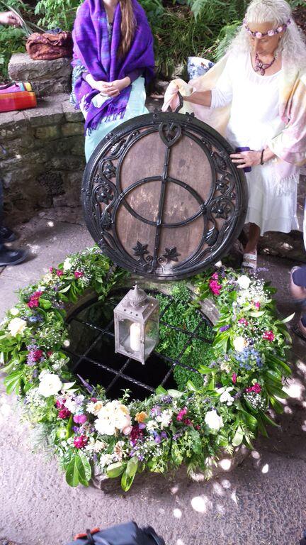 Summer Solstice Ceremony.Chalice Wells.June 21