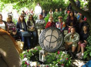 Summer Solstice Ceremony.Chalice Wells.June