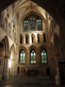 Wells Cathedral.art works.June 18