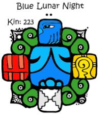 Blue Lunar Night