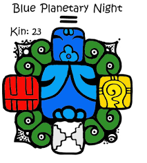 Blue Planetary Night