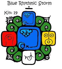 Blue Rhythmic Storm