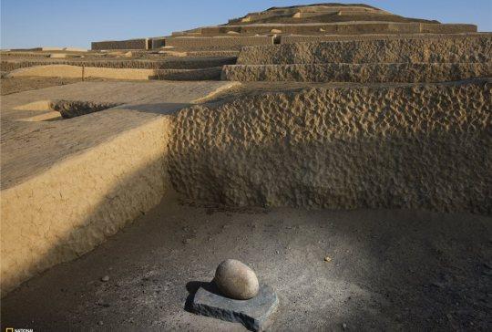 Tempel Cahuachi.peru