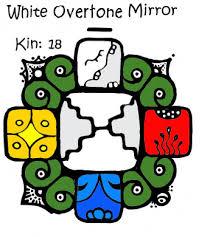 White Overtone Mirror