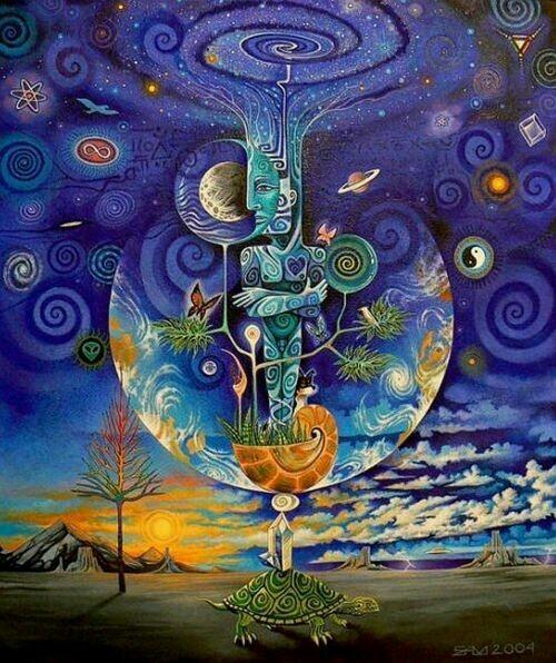 Cosmic Moon of Presence