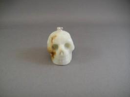 Raw Aquamarine Crystal Skull