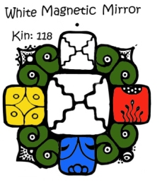 White Magnetic Mirror