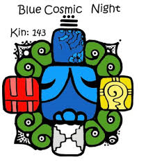 blue cosmic night
