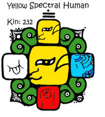 Yellow Spectral Human