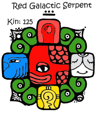 Red Galactic Serpent