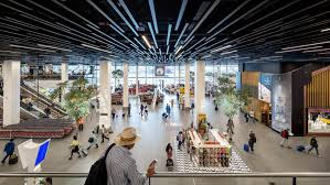 Schiphol Airport.inside