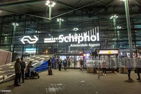 Schiphol Airport.outside