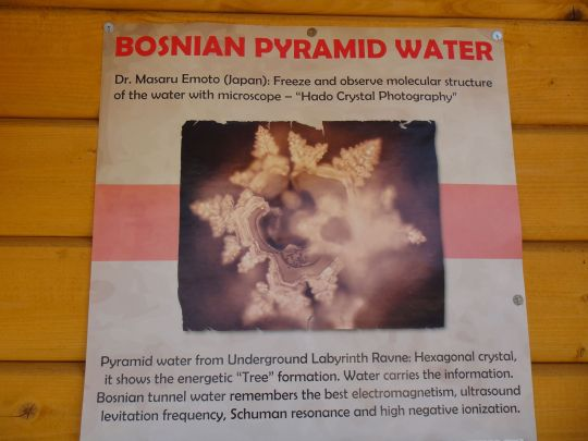 Water.Bosnian Pyramid