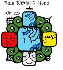 Blue Rhythmic Hand