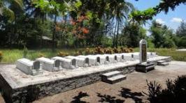 Graves at My Lai village