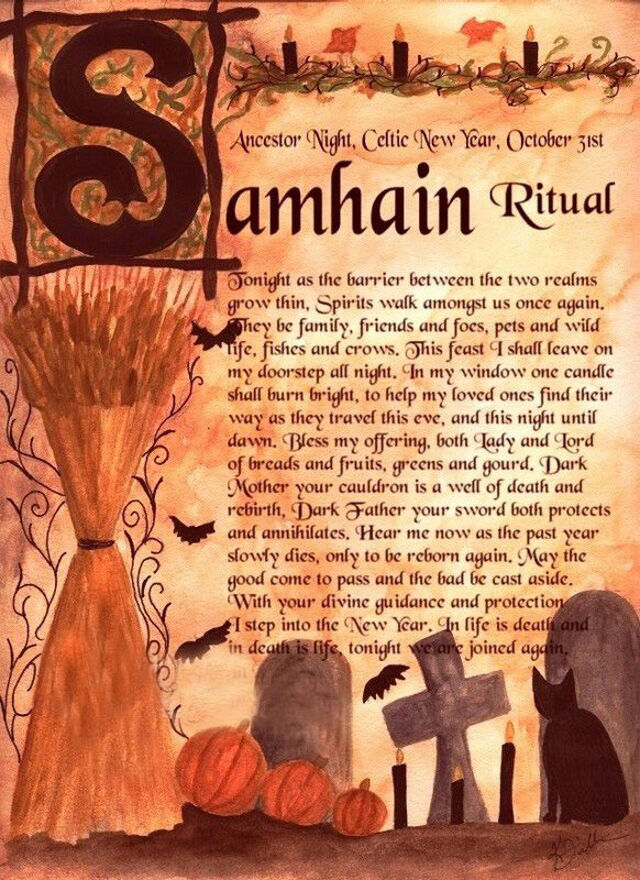 Rituals and Ceremonies Samhain - Celtic New Year