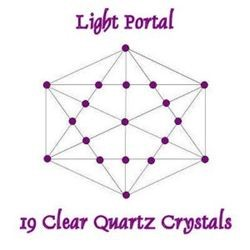 19 Clear Quartz Crystals