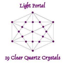 19 Clear Quartz Crystals