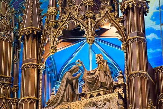 Basilica Notre Dame.Montreal