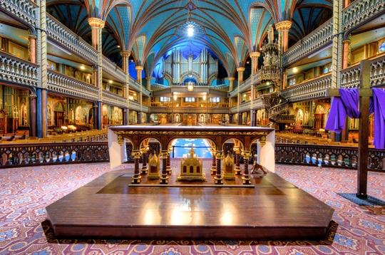 Celebration Altar.Notre Dame