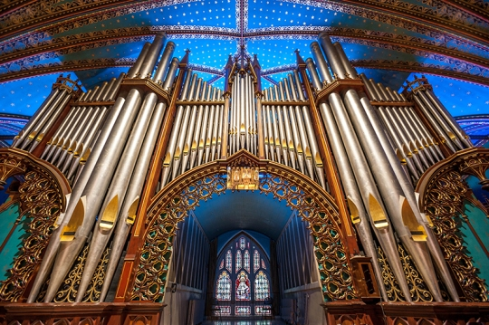 The Great Casavant Organs.Notre Dame